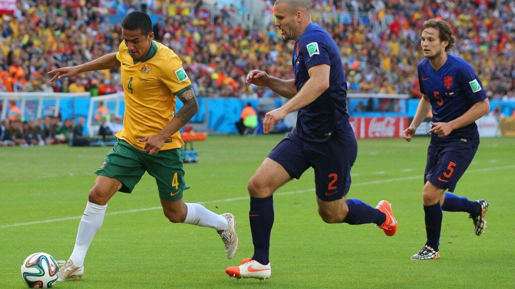 Матч сборных Австралии и Голландии - 2014
