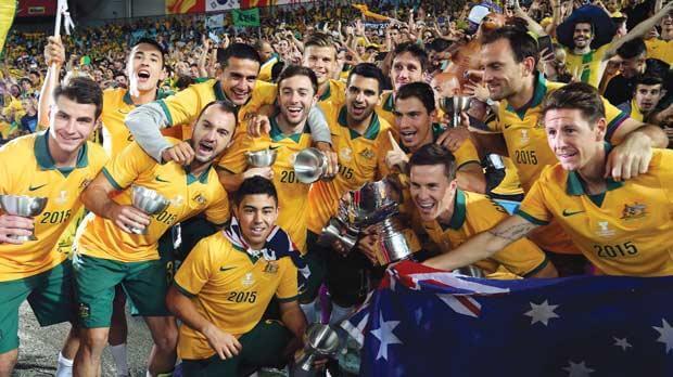 Сборная Австралии - победитель Кубка Азии-2015