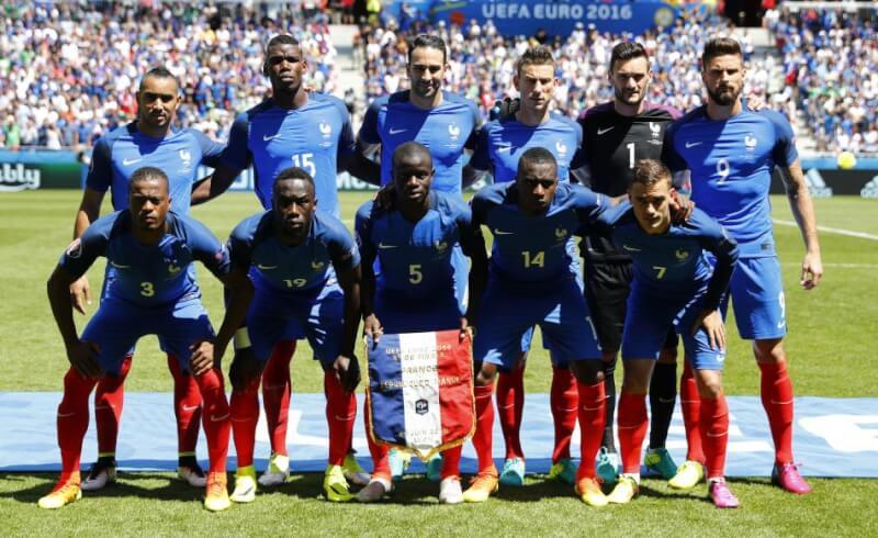 Сборная Франции - хозяева турнира