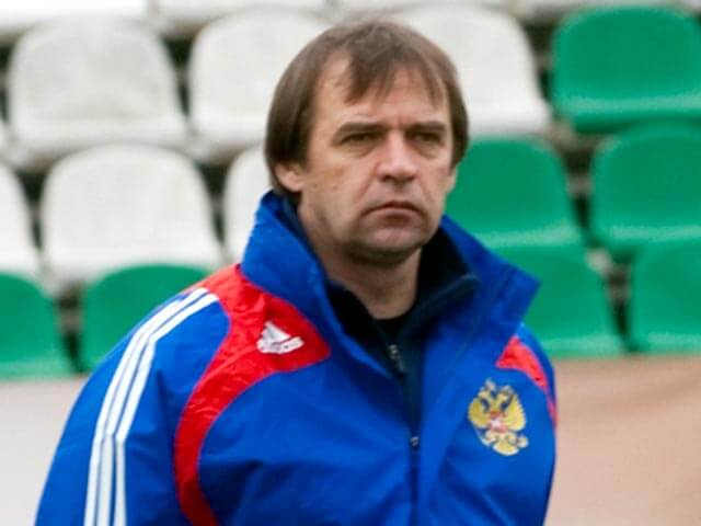 Тренер сборной России Александр Бородюк