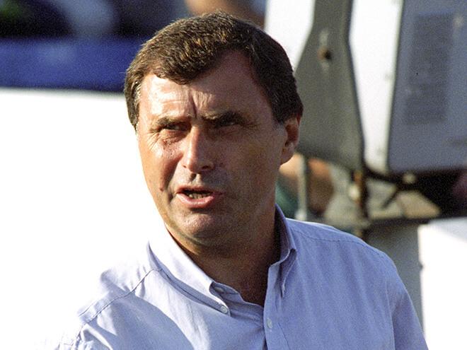 Тренер сборной России Анатолий Бышовец