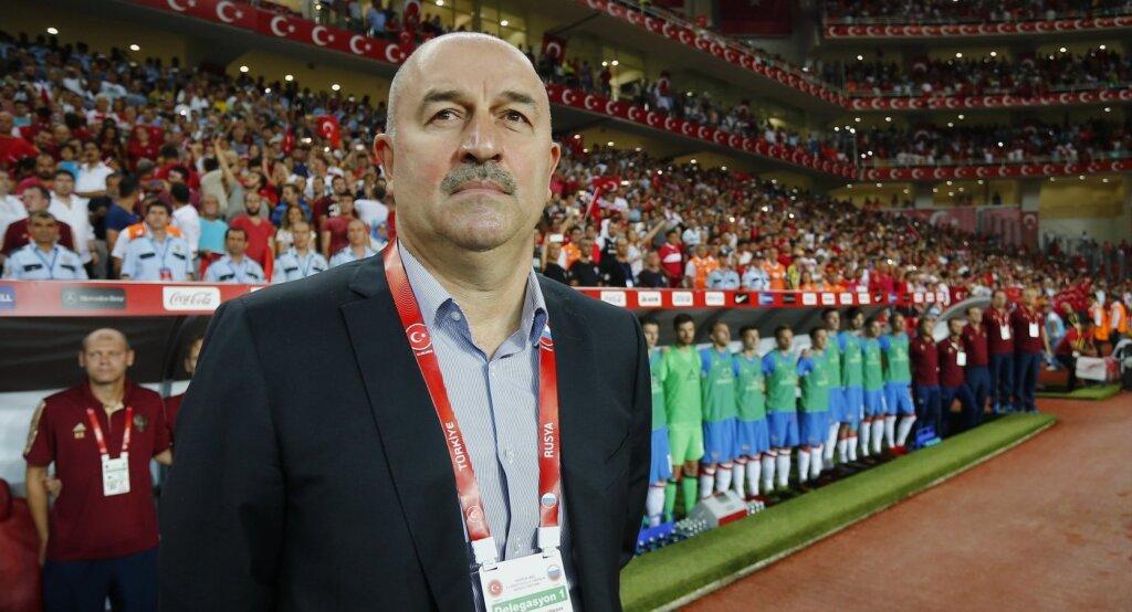 Тренер сборной России Станислав Черчесов