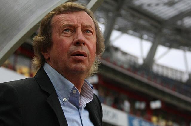 Тренер сборной России Юрий Семин
