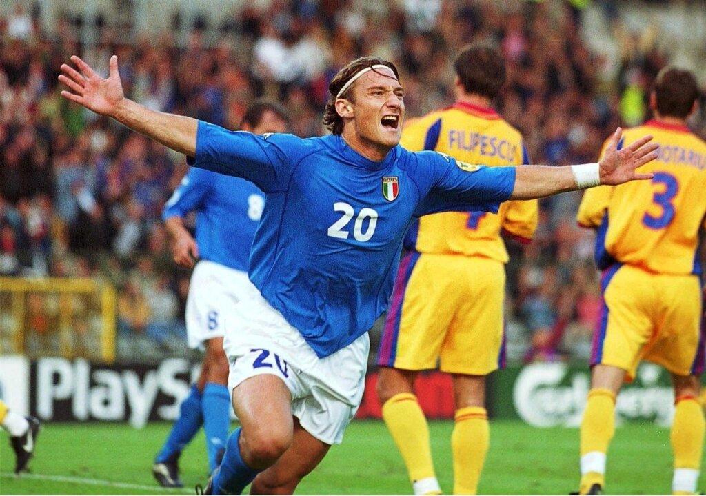 Франческо Тотти в сборной Италии