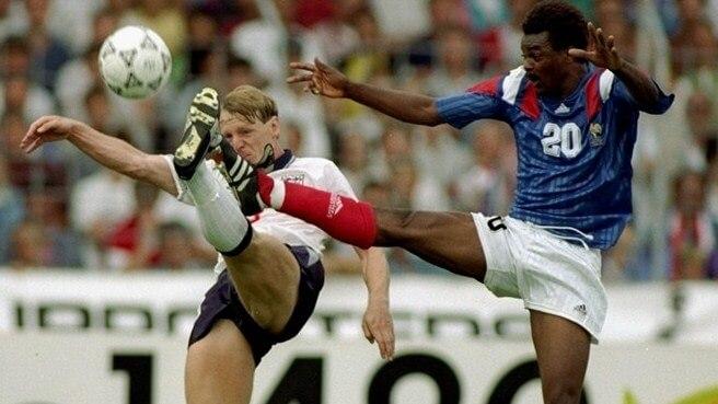 Англия - Франция на Евро-1992