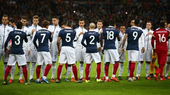 Футбольные противостояния: Англия - Франция