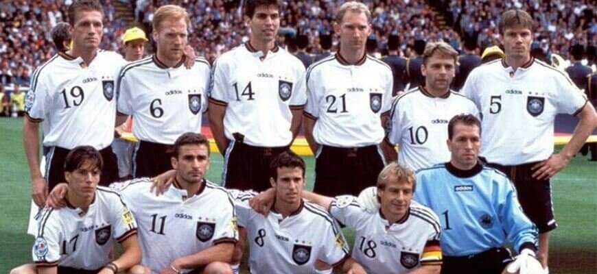 Сборная Германии на чемпионате Европы 1996 года