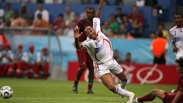 Франция - Португалия: полуфинал