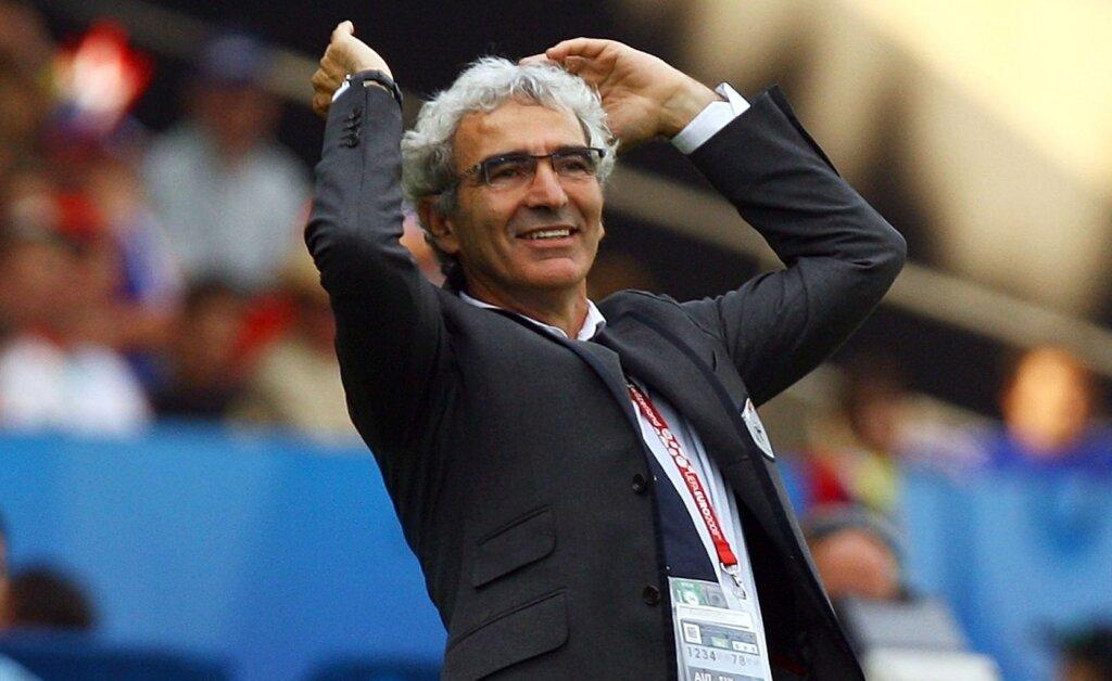 Раймон Доменек - главный тренер сборной Франции