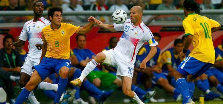 Сборная Франции - сборная Бразилии