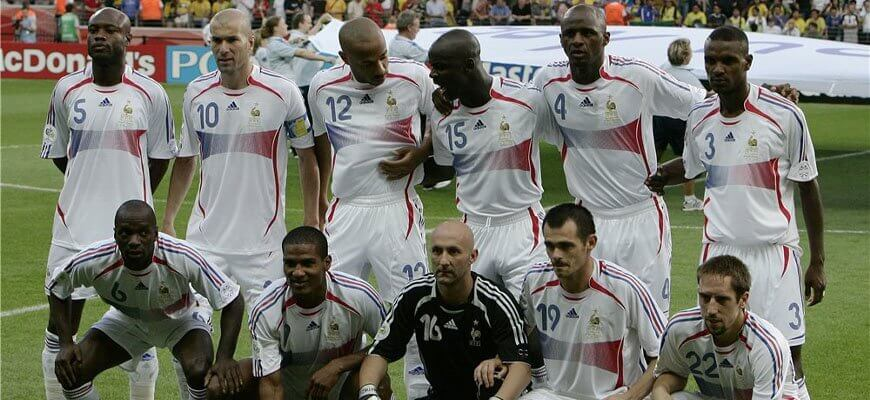 Сборная Франции на чемпионате мира 2006 года