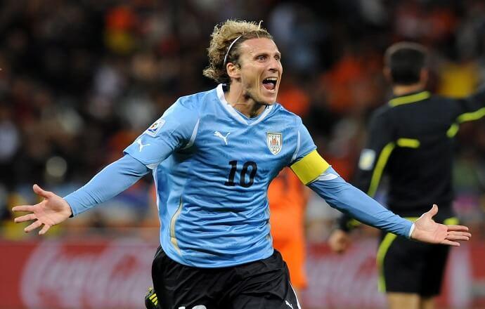 Диего Форлан - капитан сборной Уругвая