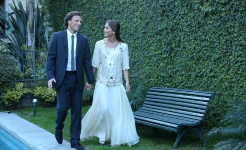 Диего Форлан с женой