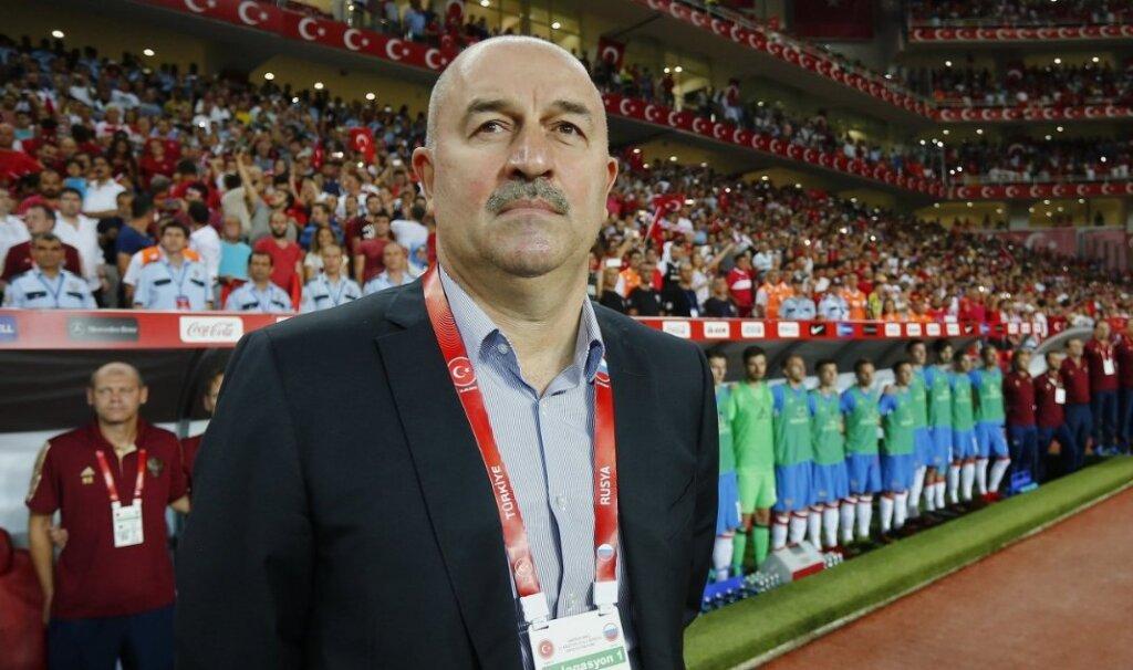 Станислав Черчесов - тренер сборной России