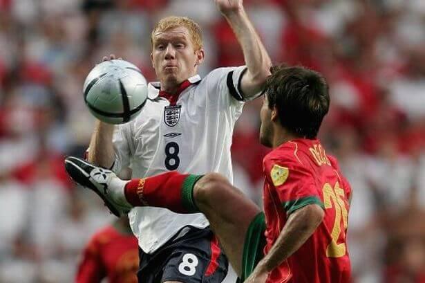 Пол Скоулз в сборной Англии