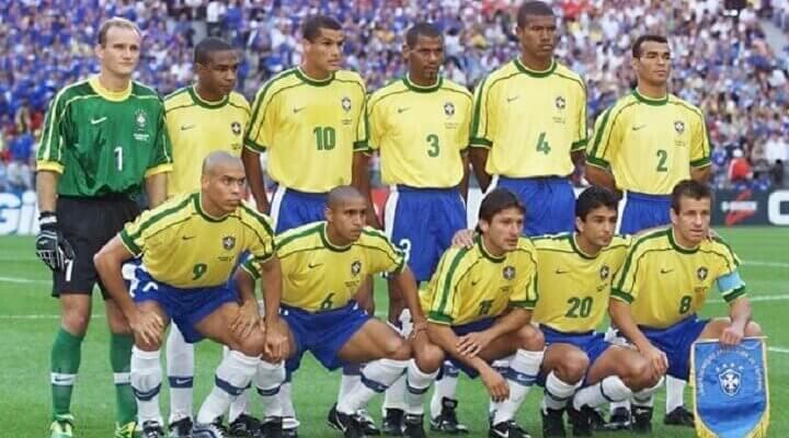 Сборная Бразилии на чемпионате мира 1998 года