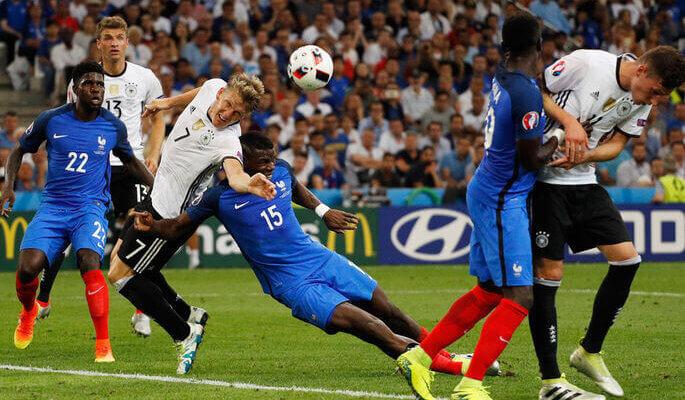 Футбольные противостояния: Германия - Франция
