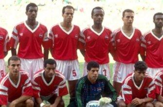 Сборная Египта на чемпионате мира 1990 года