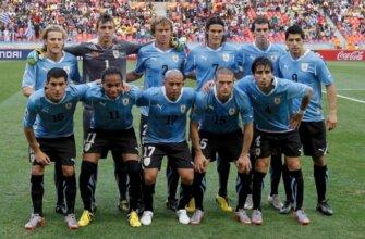 Сборная Уругвая на чемпионате мира 2010 года