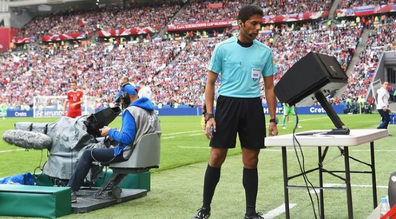 Видеоповторы в футболе