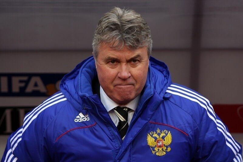 Гус Хиддинк - главный тренер сборной России