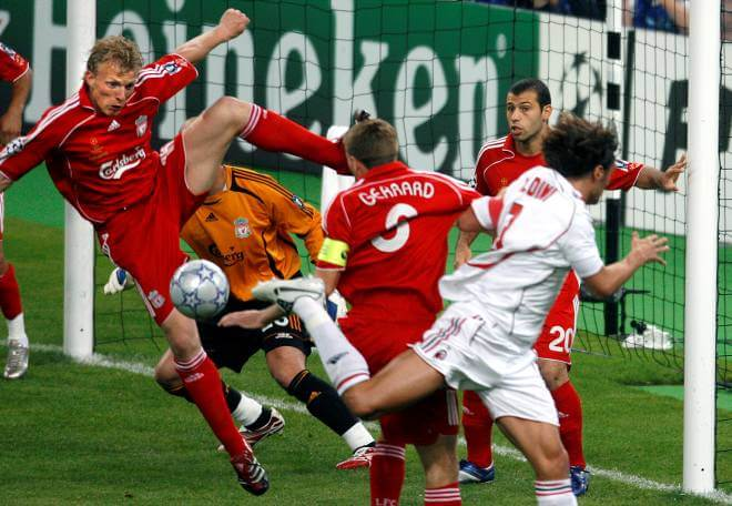 Футбол лига чемпионов милан ливерпуль 2007 год