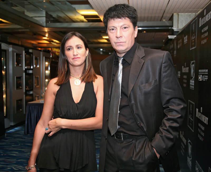 Ринат Дасаев с женой