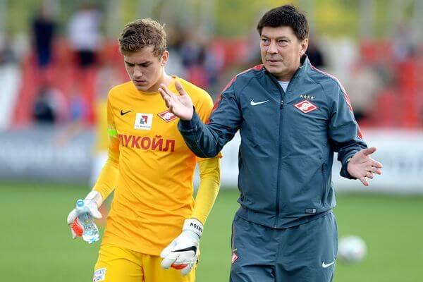 Ринат Дасаев - тренер