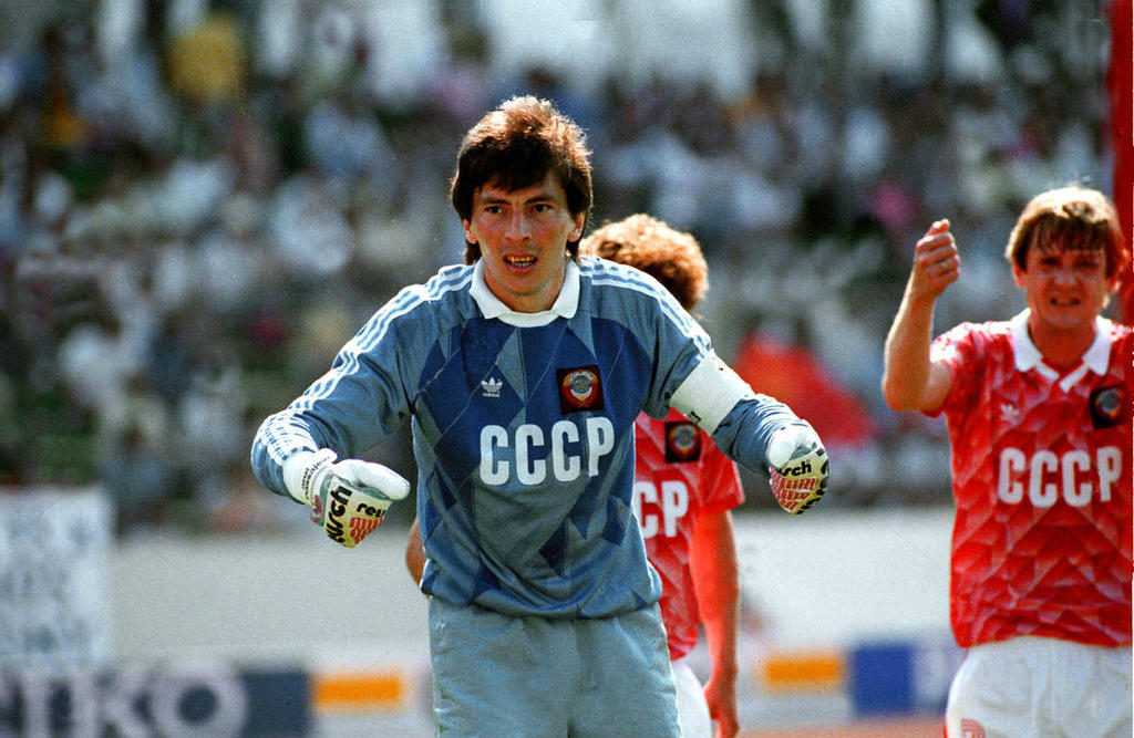 Ринат Дасаев в сборной СССР
