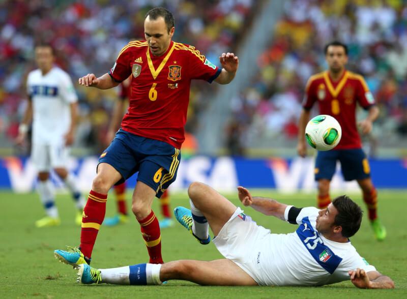 Виноградники испанского футболиста иньеста