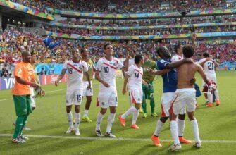 Сборная Коста-Рики на чемпионате мира 2014 года