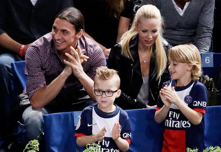 Златан ибрагимович и его семья