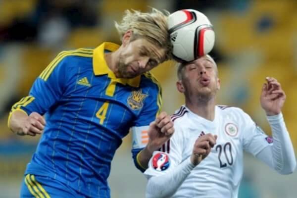 Анатолий Тимощук - капитан сборной Украины