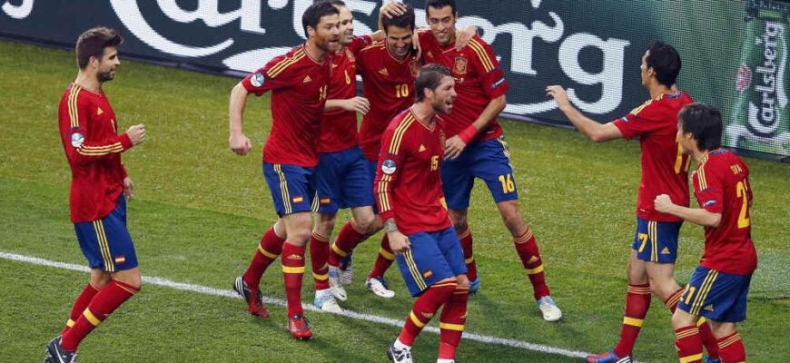 Лучшие матчи сборной Испании на чемпионатах мира