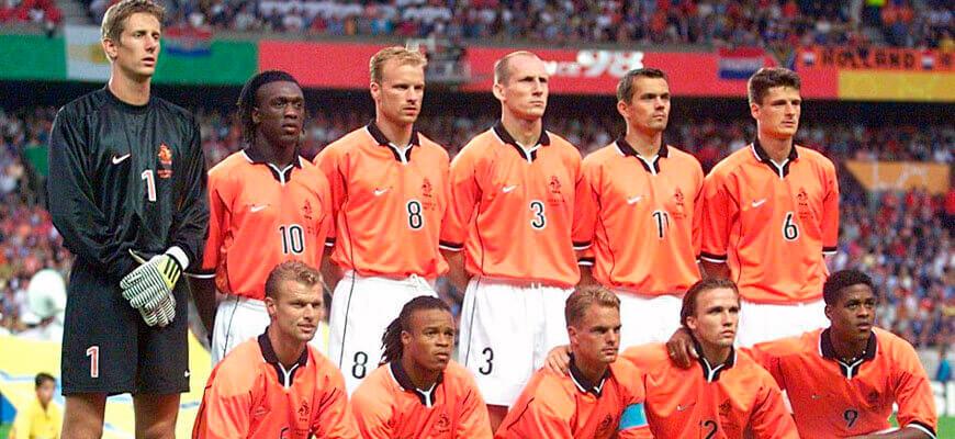 Сборная Голландии на чемпионате мира 1998 года