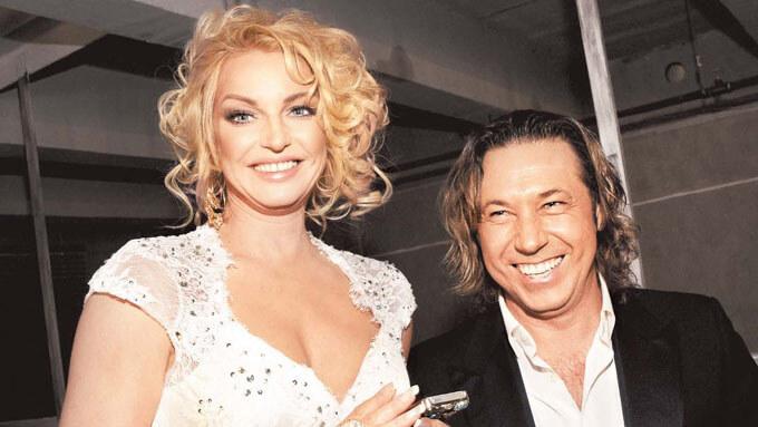 Александр Мостовой с женой Стефани