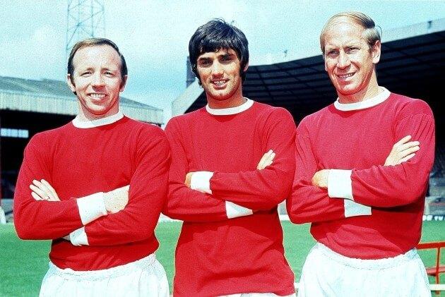 "Чарльтон, Бест, Лоу - ""святая троица"" ""Манчестер Юнайтед"""