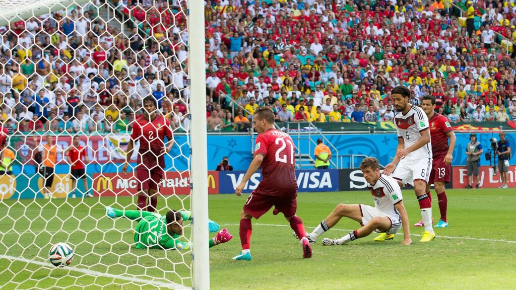 ЧМ-2014: Германия - Португалия