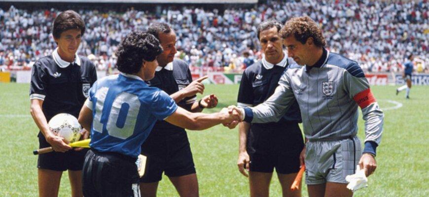 Футбольные противостояния: Англия - Аргентина