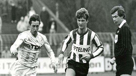 Ван Гал против Йохана Кройфа