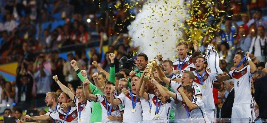 Сборная Германии на чемпионате мира 2014 года