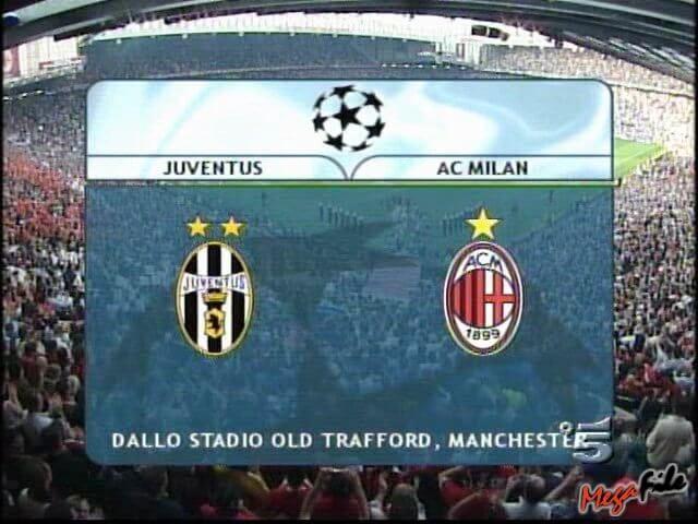 Милан ювентус финал лиги чемпионов 2003