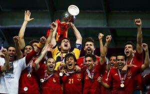 Лучшие матчи сбоной Испании на чемпионатах Европы