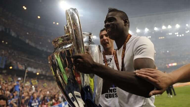 Марио Балотелли - победитель Лиги чемпионов