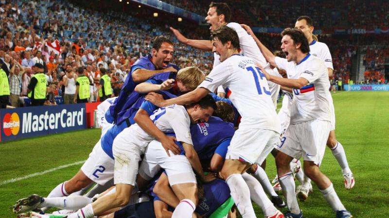 Россия - Голландия: четвертьфинал Евро-2008