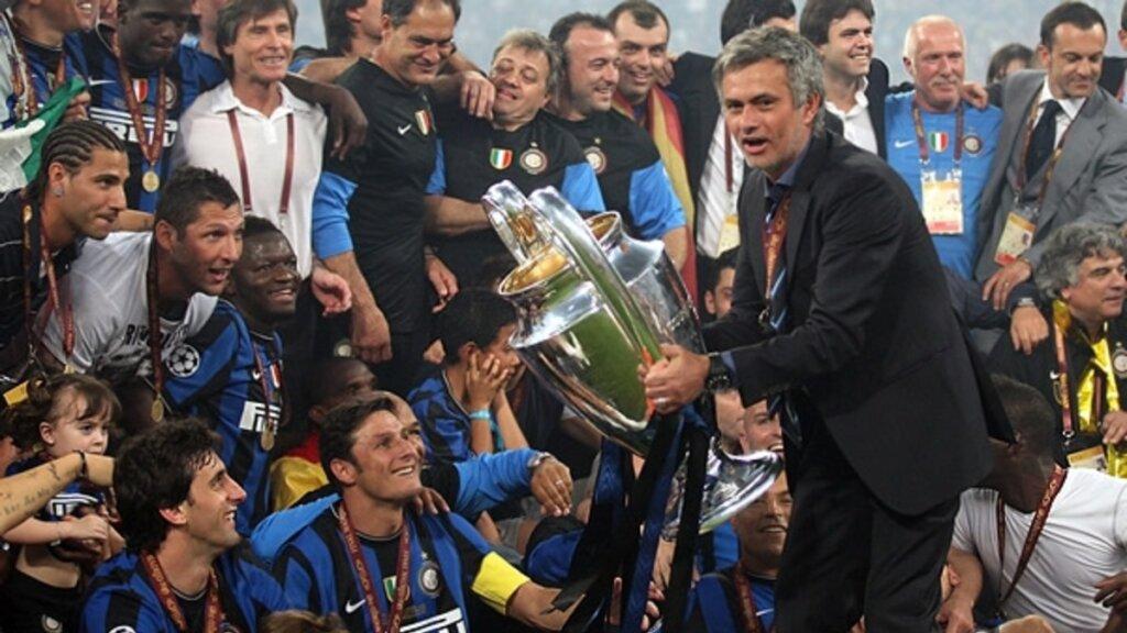 Жозе Моуринью - победитель Лиги чемпионов