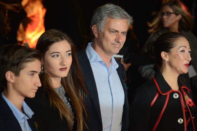 Жозе Моуринью: семья