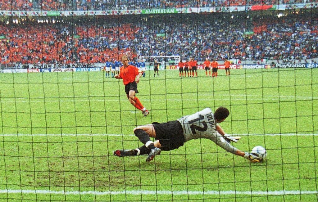 Евро-2000: серия пенальти Италия - Голландия