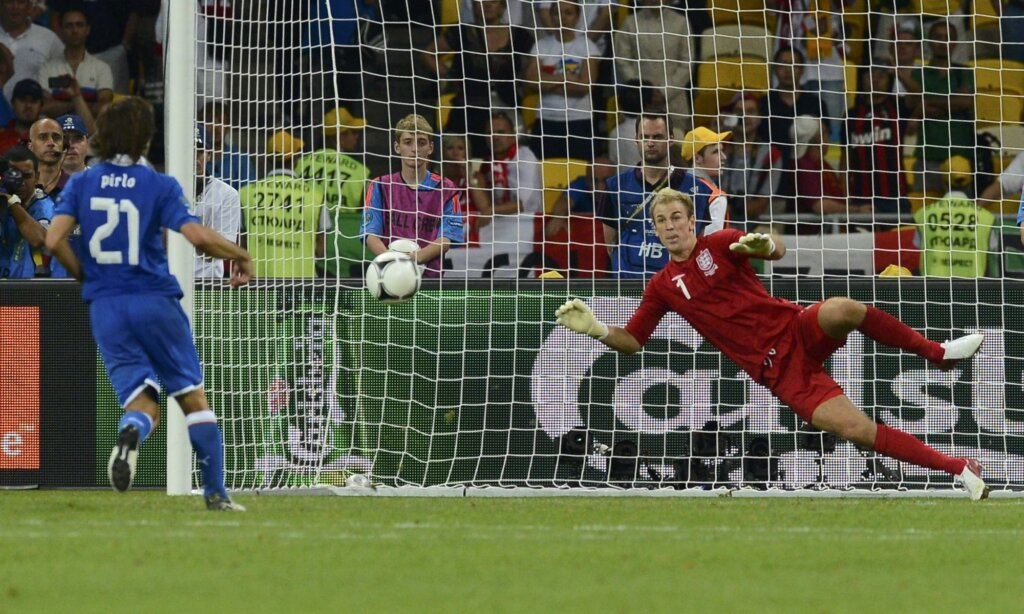 Евро-2012: серия пенальти Италия - Англия