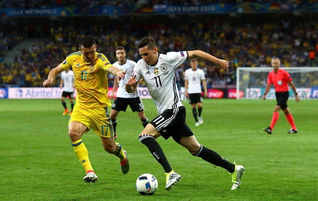 Евро-2016: Германия - Украина